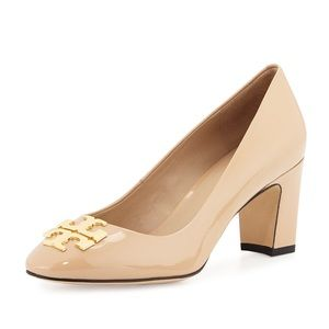 Tory Burch Raleigh Nude Patent Pumps